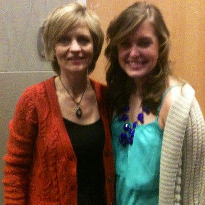 With Martha Moseley after speech at TCU
