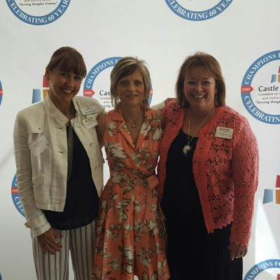 Keynote Speaker at Castle Rock Chamber Women of Influence Luncheon