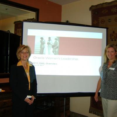 Keynote for Oracle Women's Leadership