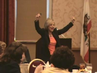 Speaker Lori Hanson