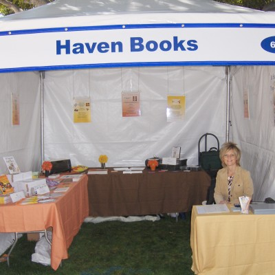 Booth at LA Times Festival of Books