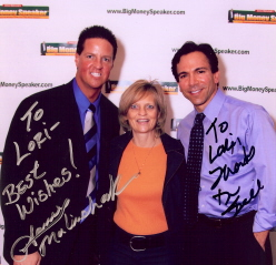 With James Malinchak and Dr. Bill Dorfman (Extreme Makeover)