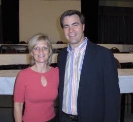 With Steve Harrison, RTIR
