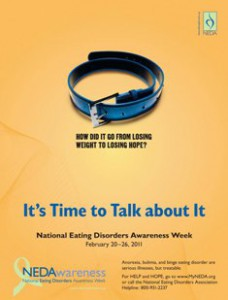 Reflections of Anorexia…National Eating Disorder Awareness Week
