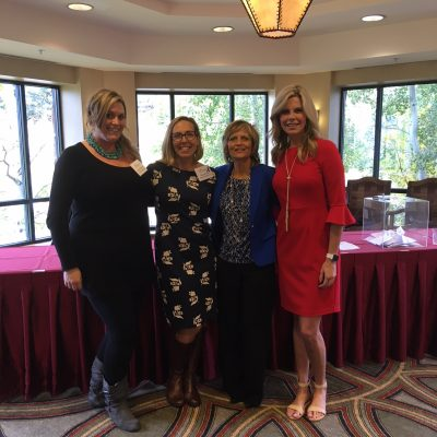 Opening Keynote - Women's Leadership Summit pictured with Lauren Whitney (CBS4 Denver), Steamboat Chamber: Kara Toller & Sarah Lawrence